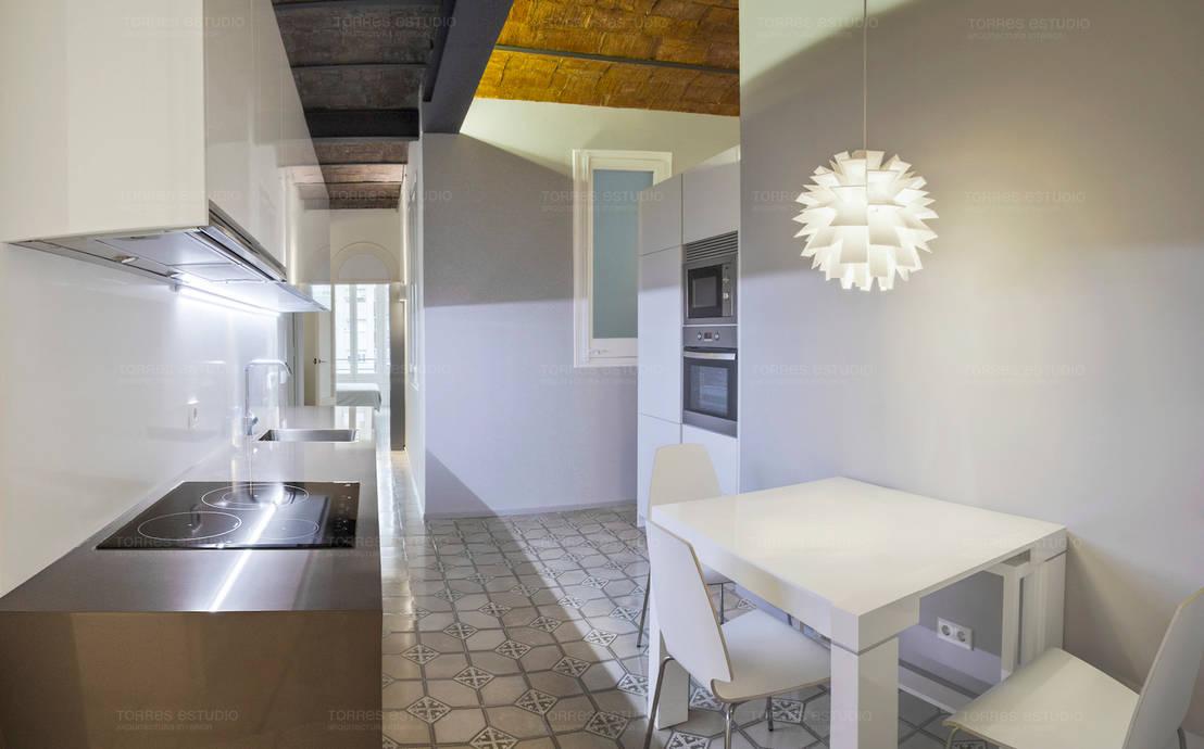 Remodelaci n de piso modernista en el coraz n de barcelona - Estudios de arquitectura en cordoba ...