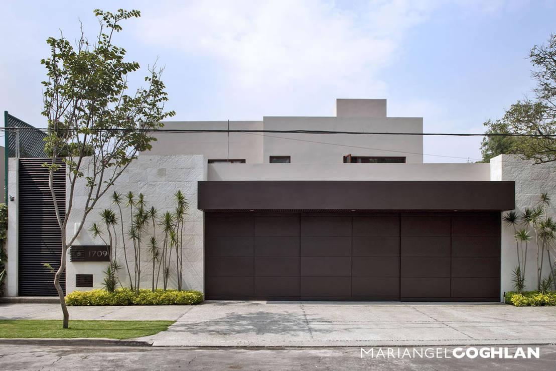15 fachadas que protegen tu casa de la inseguridad for Mejores fachadas de casas modernas