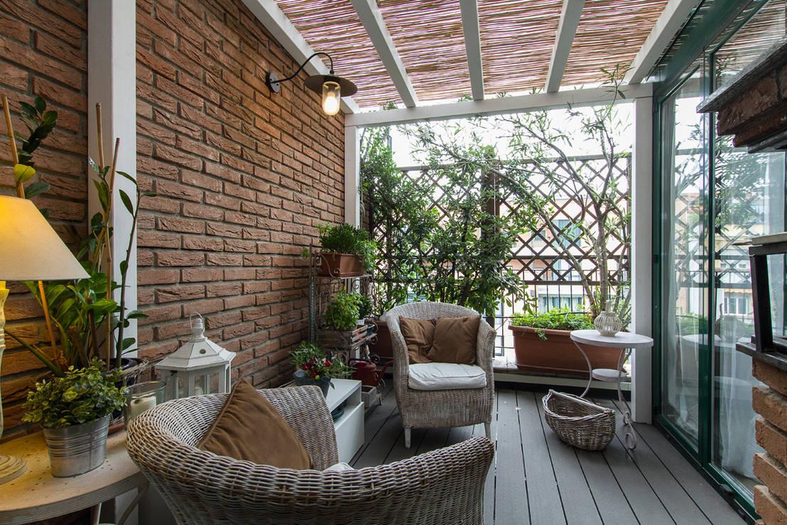 La pergola rustica per un terrazzo da sogno!