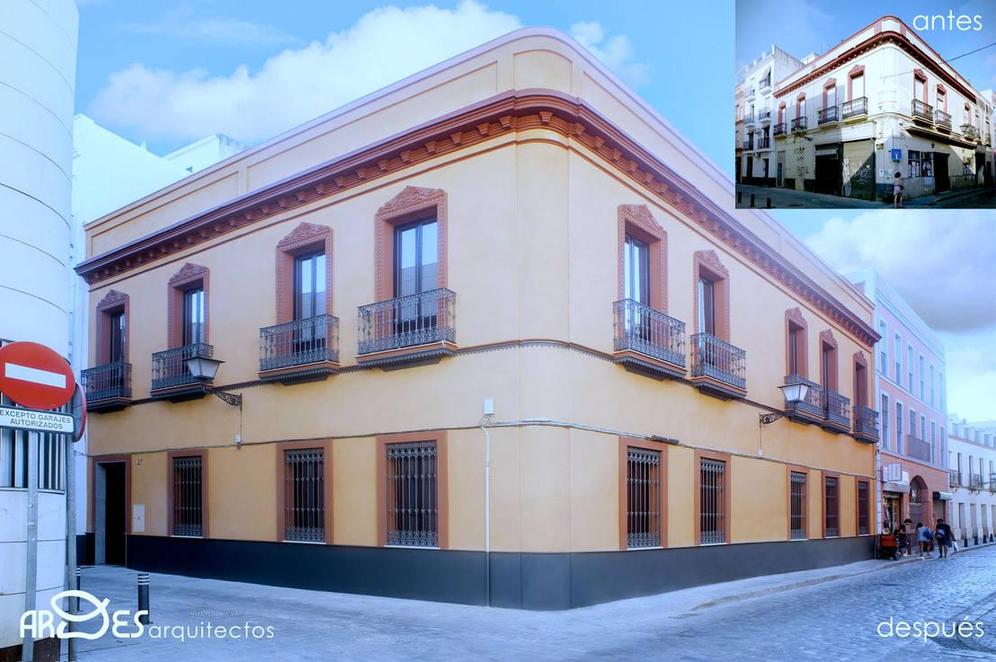 Rehabilitaci n de edificio de viviendas en calle jes s del - Arquitectos de sevilla ...
