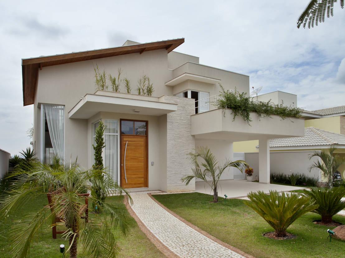 5 hermosas casas de dos pisos con impresionantes fachadas for Modelos de fachadas para casas de 2 pisos
