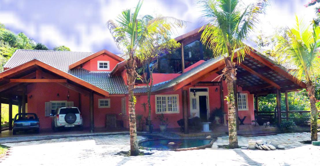 Casa de campo de elisabeth berlato arquitetura interiores for Homify casas de campo
