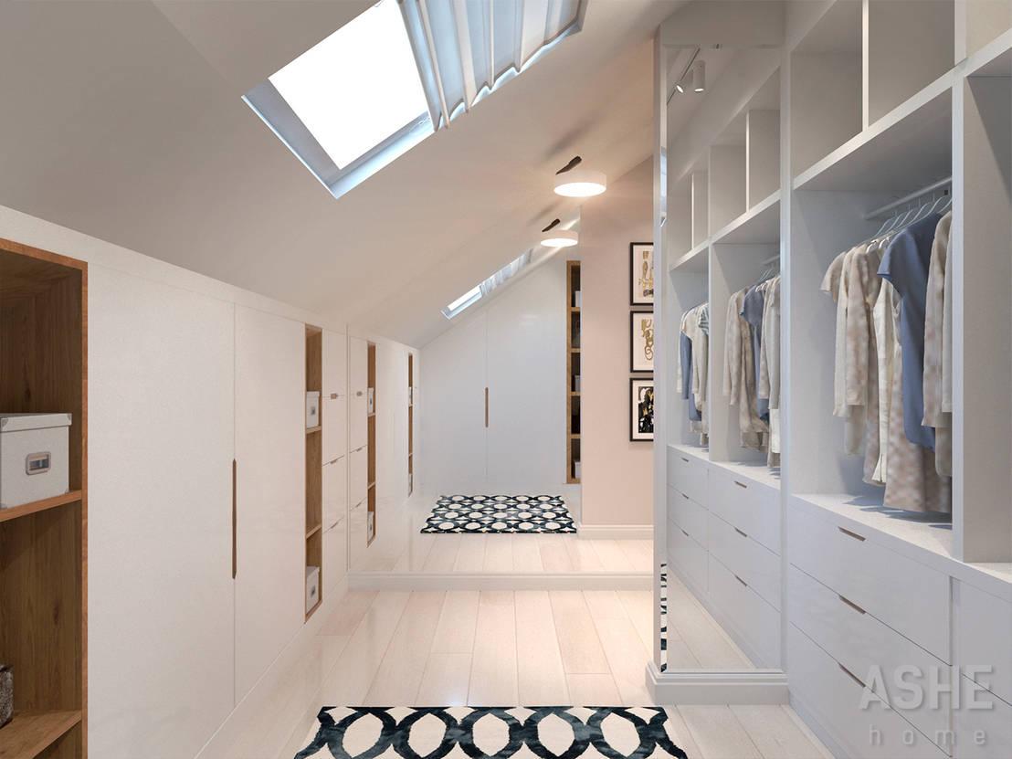 6 wohnideen f r r ume mit dachschr gen. Black Bedroom Furniture Sets. Home Design Ideas