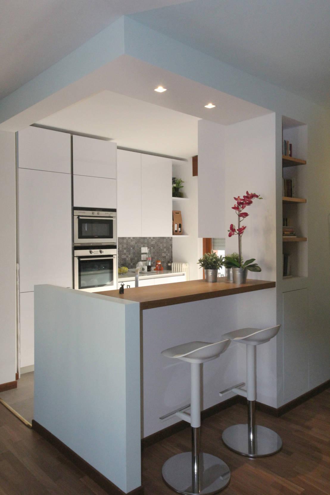 5 kleine keukens om simpelweg gelukkig van te worden - Optimaliseren van een kleine keuken ...