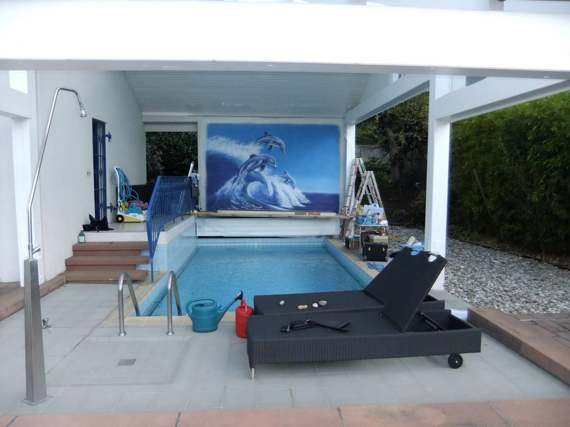 Pool Wandgestaltungen von Lizard Design | homify