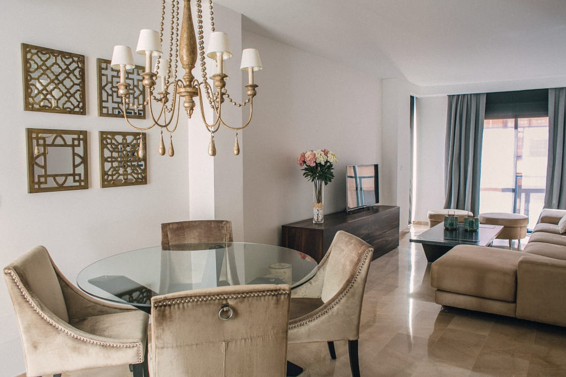 Un apartamento muy rom ntico en lorca for Muebles de oficina lorca