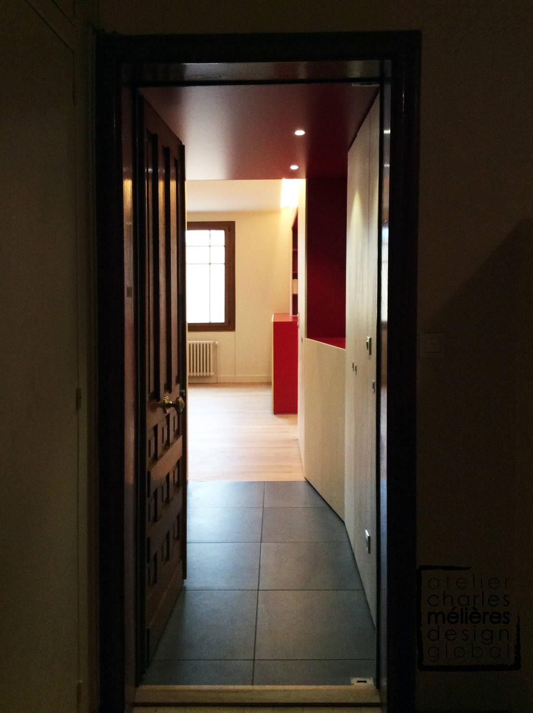 r novation contemporaine d un appartement annecy haras de charles melieres homify. Black Bedroom Furniture Sets. Home Design Ideas
