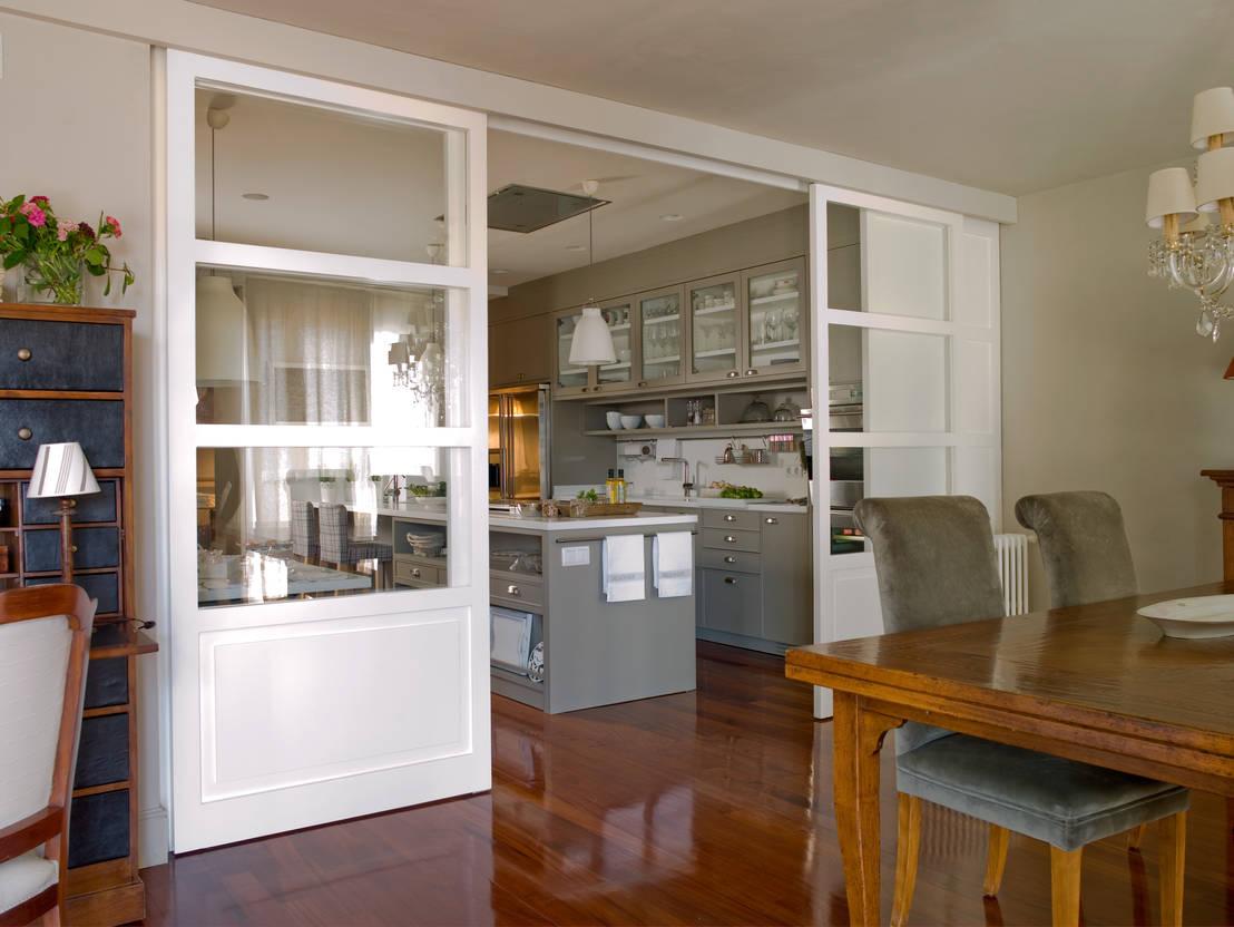 Cocina y planchador con el sello inconfundible de for Disenos cocinas abiertas