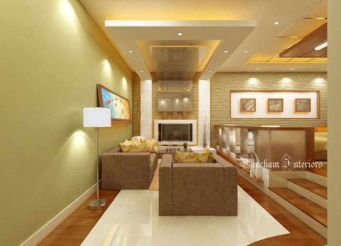 Living area designs por pancham interiors homify for Interior designs in bangalore