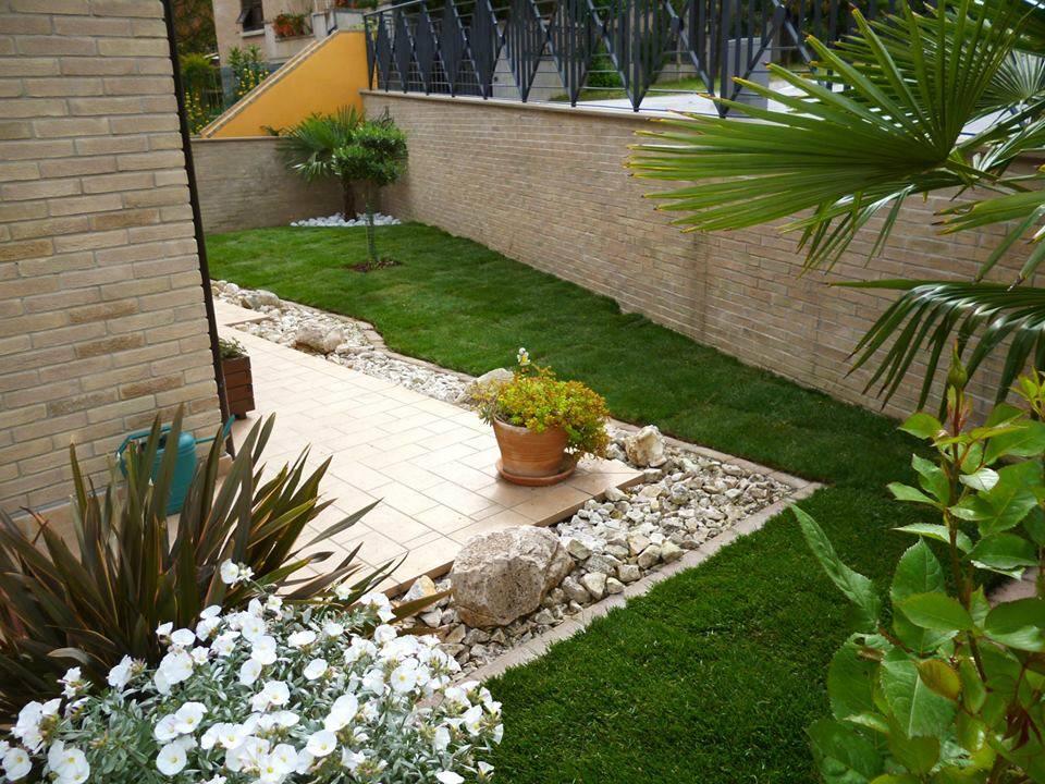58 foto di giardini meravigliosi progettati dai nostri - Giardini di villette ...