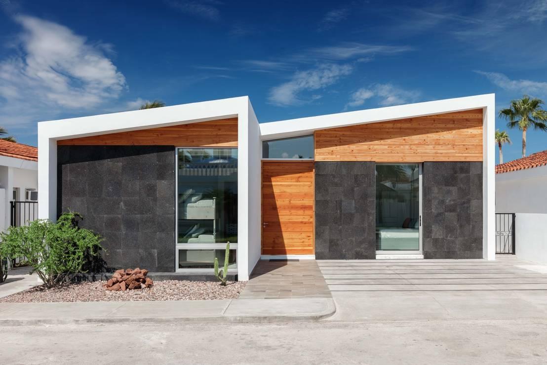 Casas peque as 6 fachadas por arquitectos mexicanos for Modelos de casas minimalistas pequenas