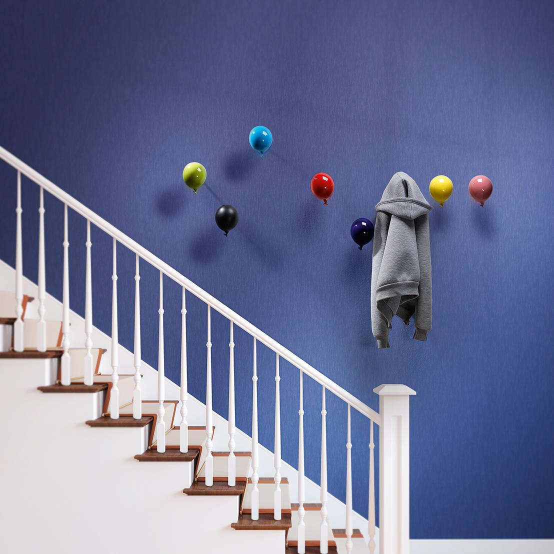Appendiabiti da parete decorativo mini balloon di for Design vendita on line
