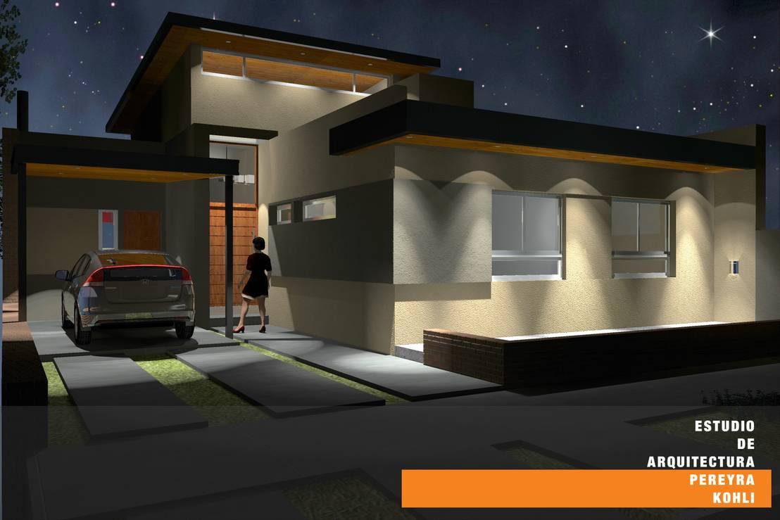 Casa tk de estudio de arquitectura pereyra kohli homify for Estudio de arquitectura