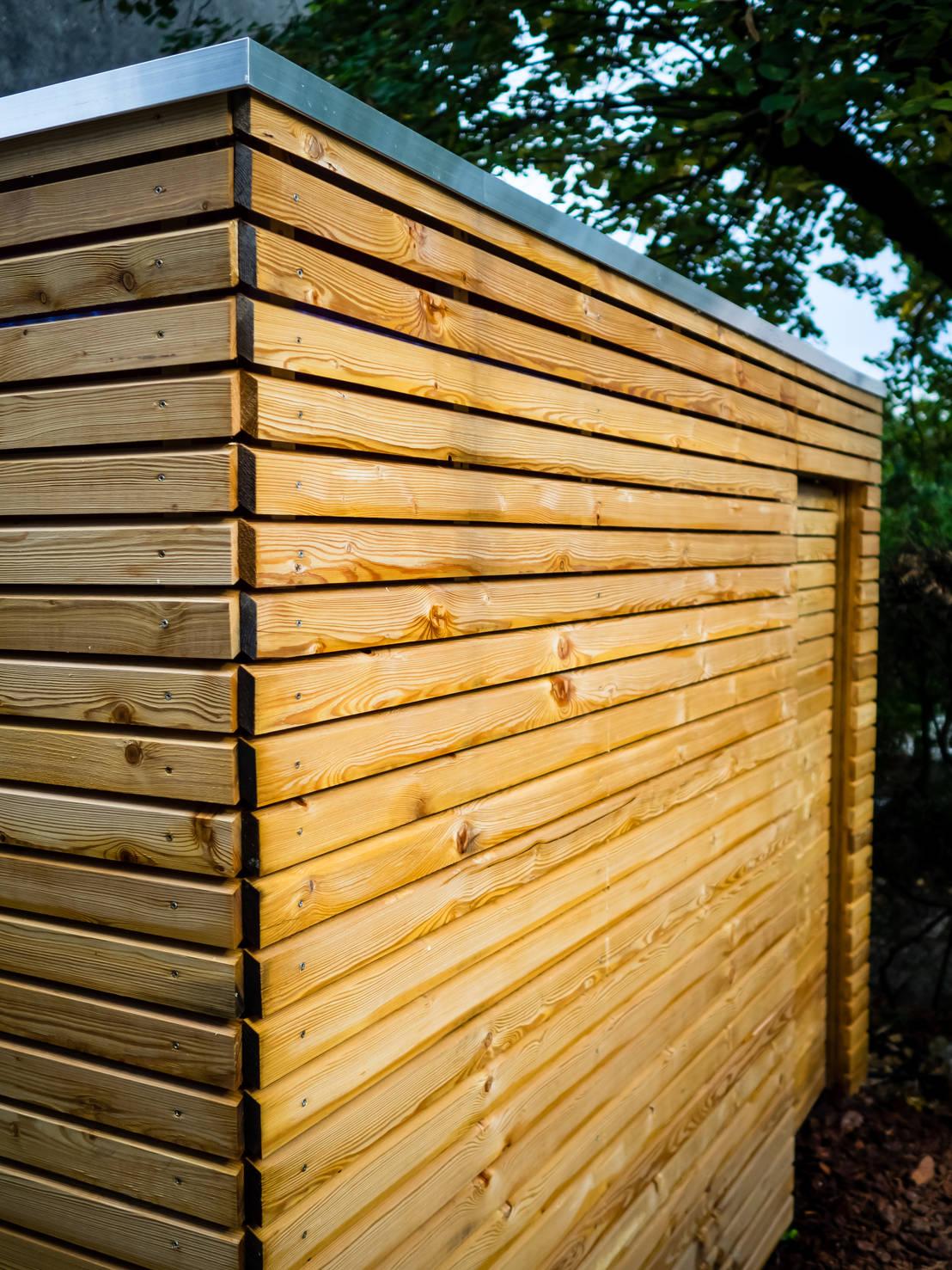 Abri De Jardin Contemporain De Kalpana Solutions Homify