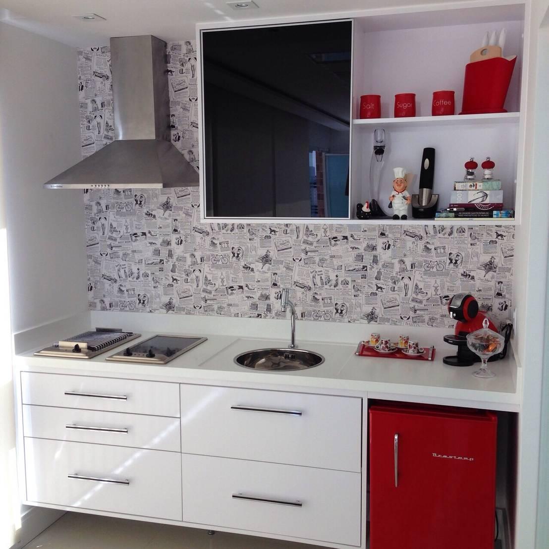 26 cozinhas que te inspirar o se a sua casa for pequena for Como se decora una cocina pequena