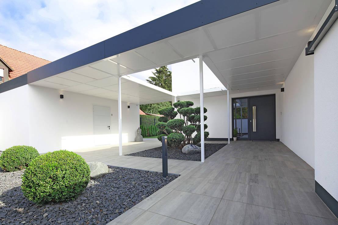 Giardini con pavimento in pietra moderni e facili da for Giardini moderni foto