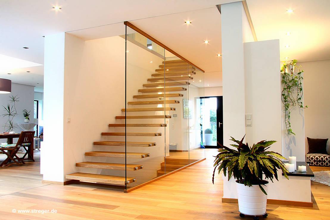 treppenmodelle die funktion und modernes design in einklang bringen von streger. Black Bedroom Furniture Sets. Home Design Ideas