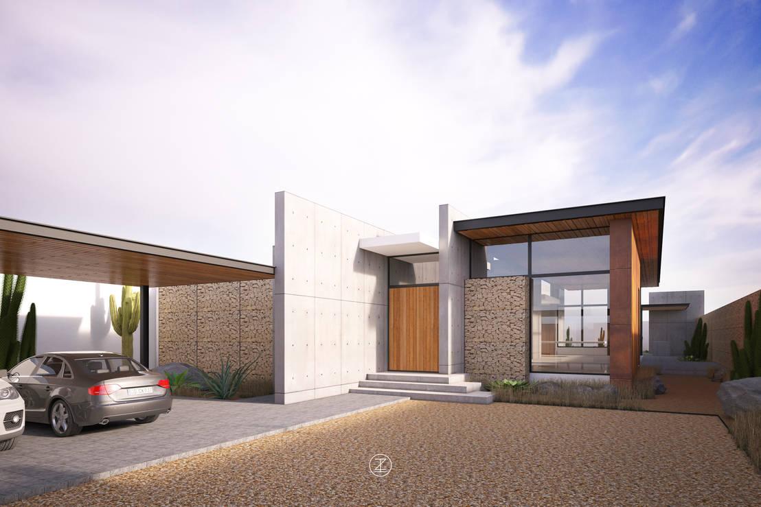 Casa 0316 de lozano arquitectos homify for Arquitectos para casas