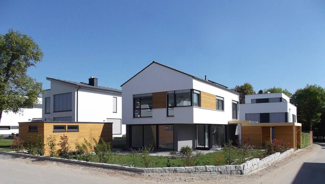 Einfamilienhaus in steinbach von lauth van holst architekten homify - Architektur einfamilienhaus modern ...