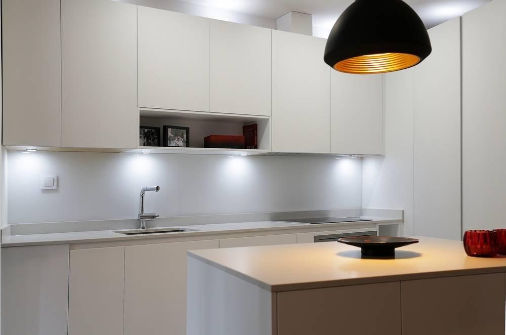Dise o de cocina con isla en madrid de l nea 3 cocinas for Utensilios cocina madrid