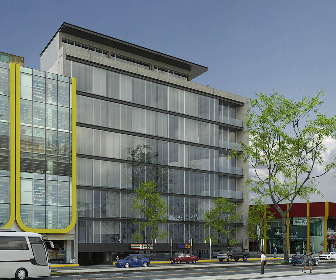 Corporativo universidad by arco arquitectura contempor nea for Arquitectura contemporanea