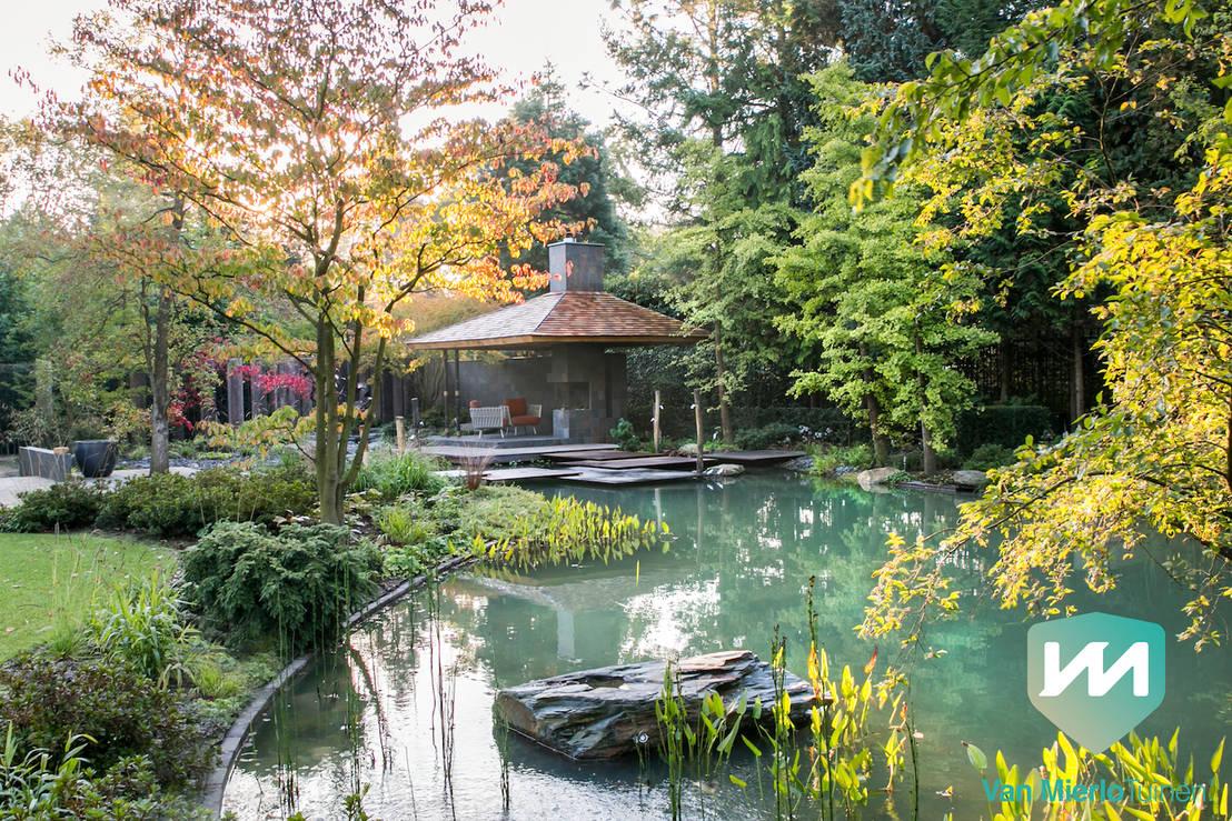 Exclusieve japanse watertuin Автор u2013 van mierlo tuinen exclusieve