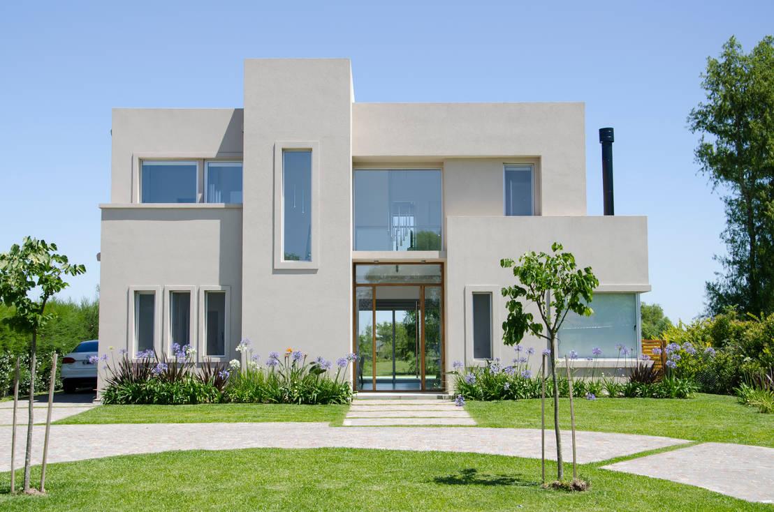 Moderna integridad por parrado arquitectura homify for Casa moderna tunisie
