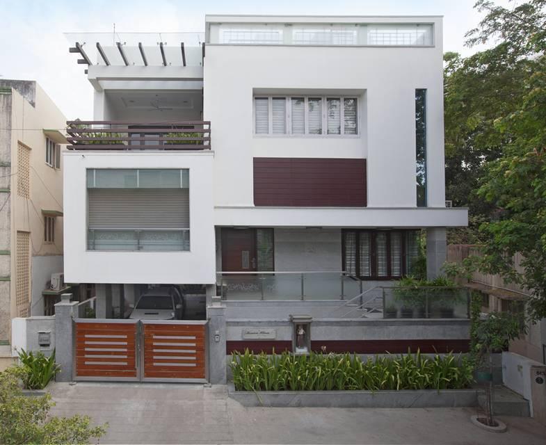 Award winning house at kk nagar chennai designed by ansari architects - Award Winning House At Kk Nagar Chennai Designed By Ansari Architects 1