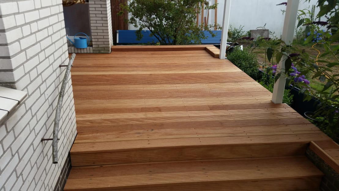 kahrs gmbh mandioqueira terrassendielen 25 x 145 mm homify. Black Bedroom Furniture Sets. Home Design Ideas