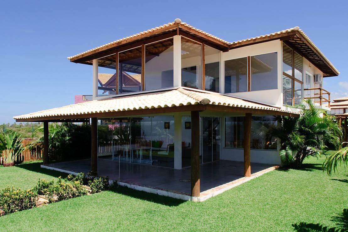 12 casas de dos pisos s per lindas y familiares no te for Casa para dos con piscina privada