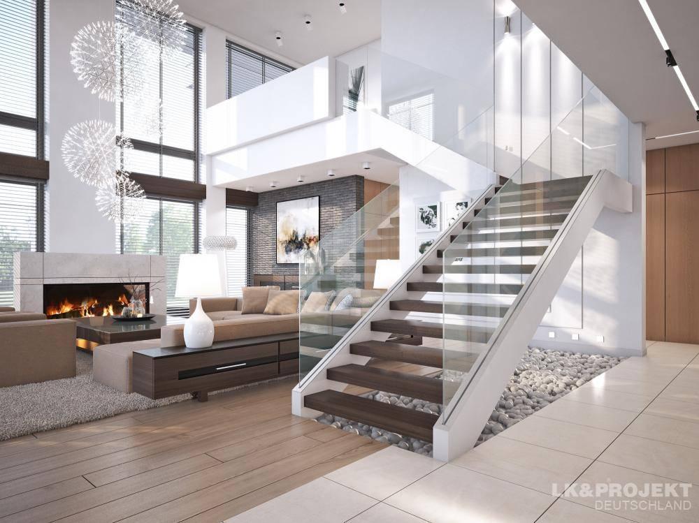 10 kamers met een moderne, fantastische trap