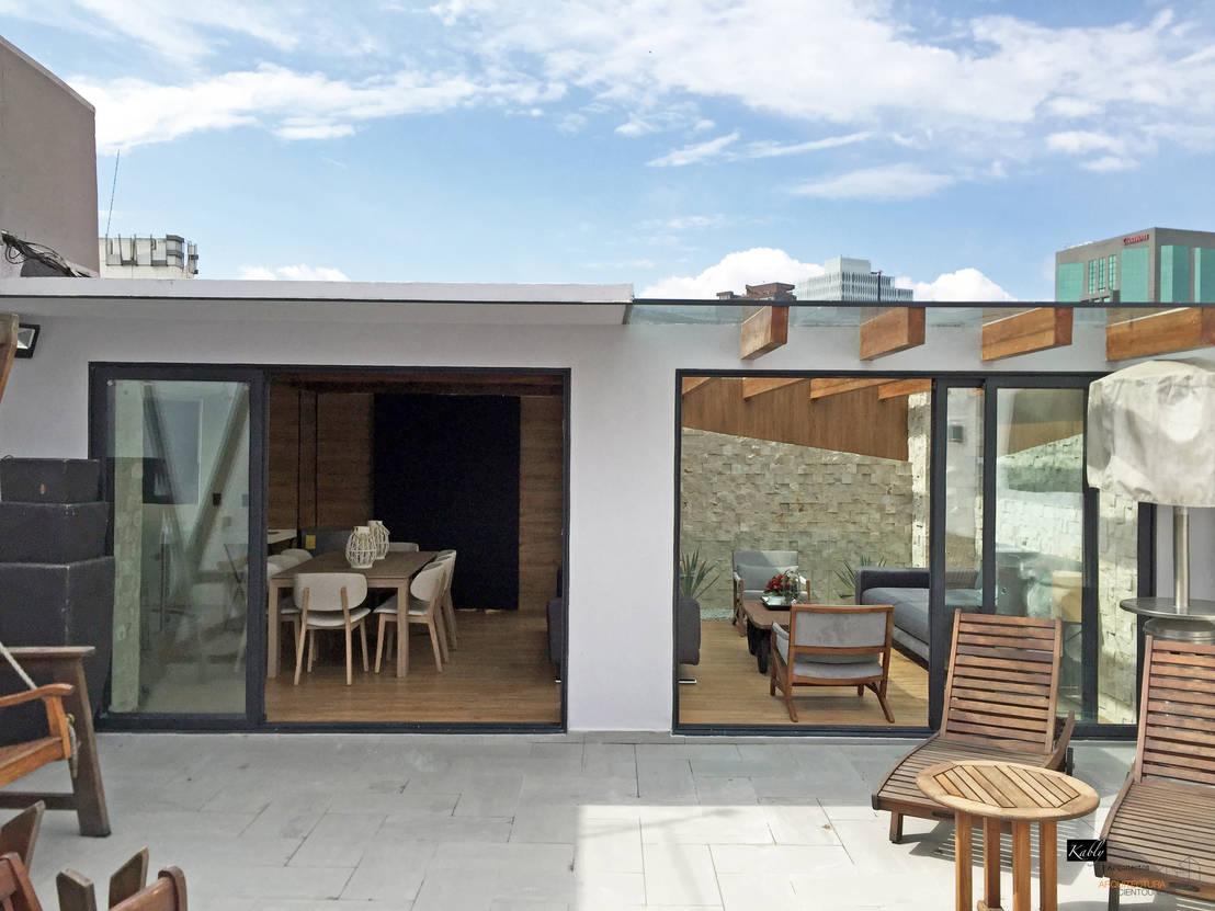 10 fotos de una terraza en la azotea que te va a encantar for Terrazas azoteas