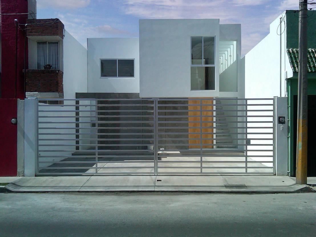 13 casas peque as dise adas por arquitectos en m xico for Modelos de casas minimalistas pequenas