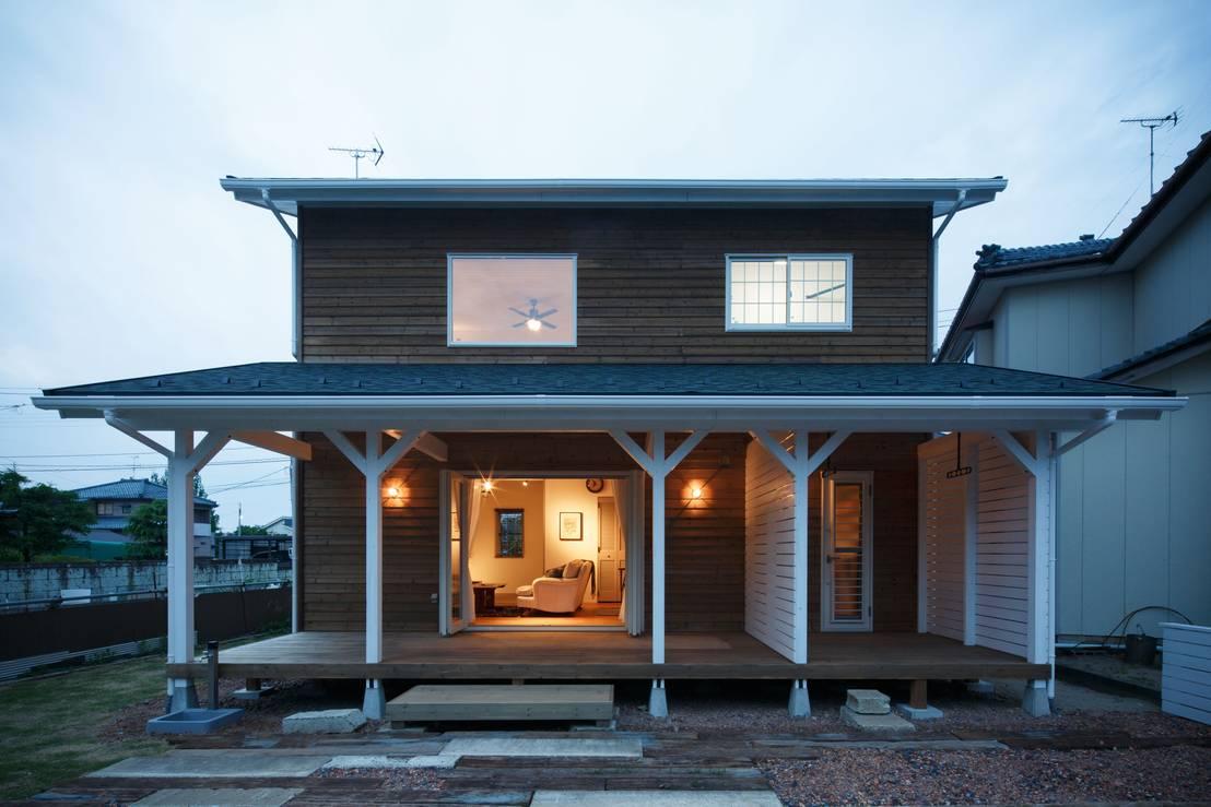 10 fasad rumah kayu paling cantik