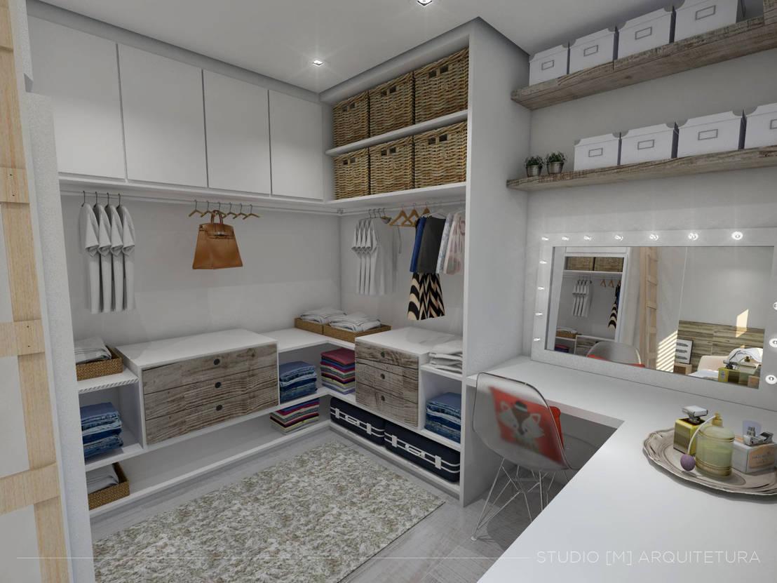 17 ideas de armarios y vestidores para habitaciones peque as - Aprovechar espacio habitacion pequena ...