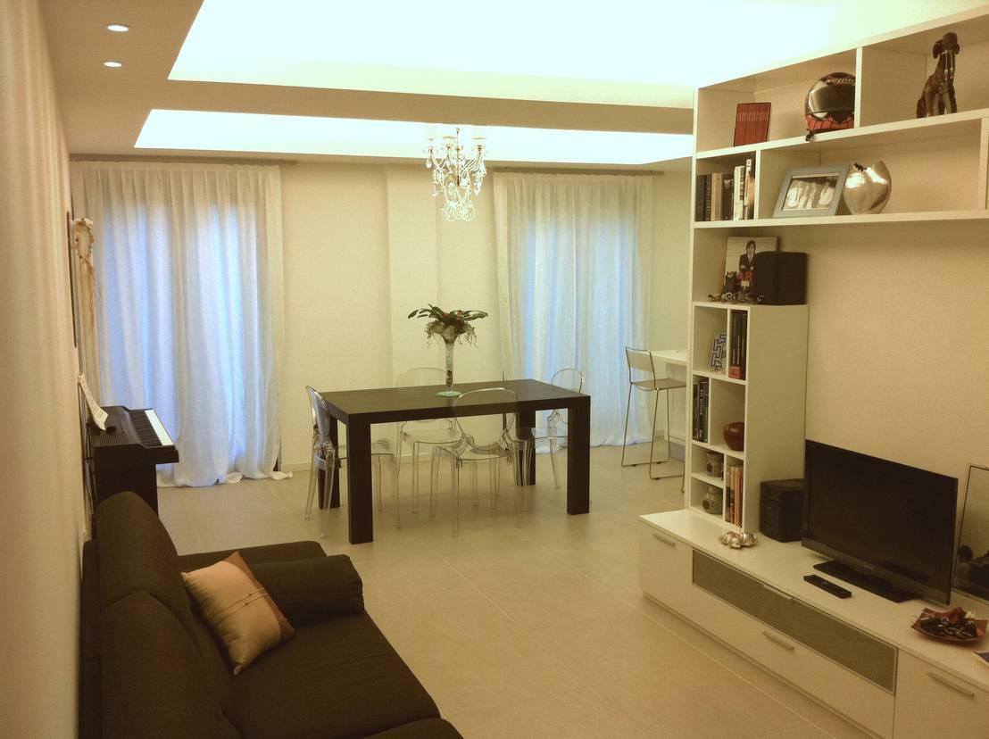 Appartamento moderno por criscione arredamenti homify for Appartamento moderno