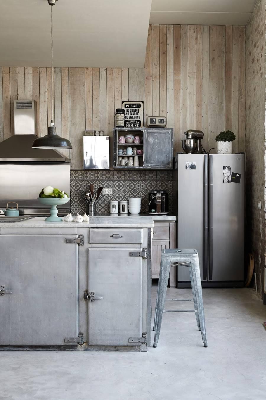 leuke ideeën voor de achterwand in de keuken