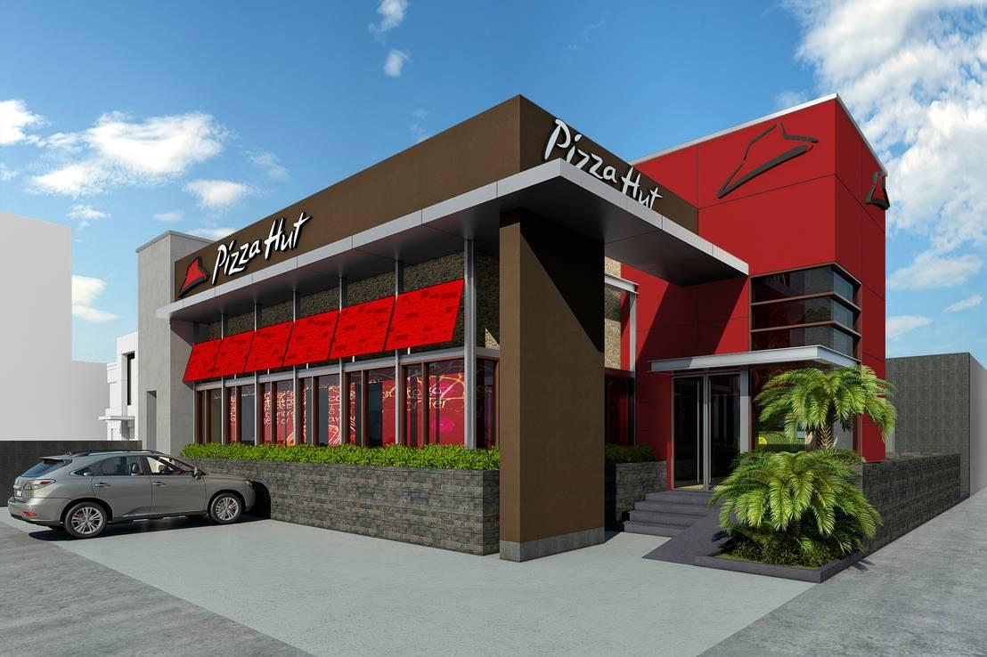 Arkilinea restaurantes pizza hut homify - Restaurante pizza hut ...