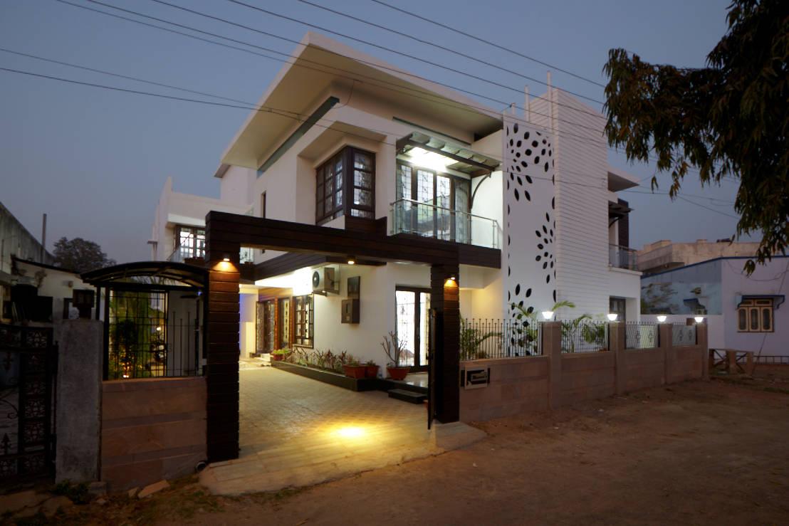 7 Facade Designs For Small Indian Homes
