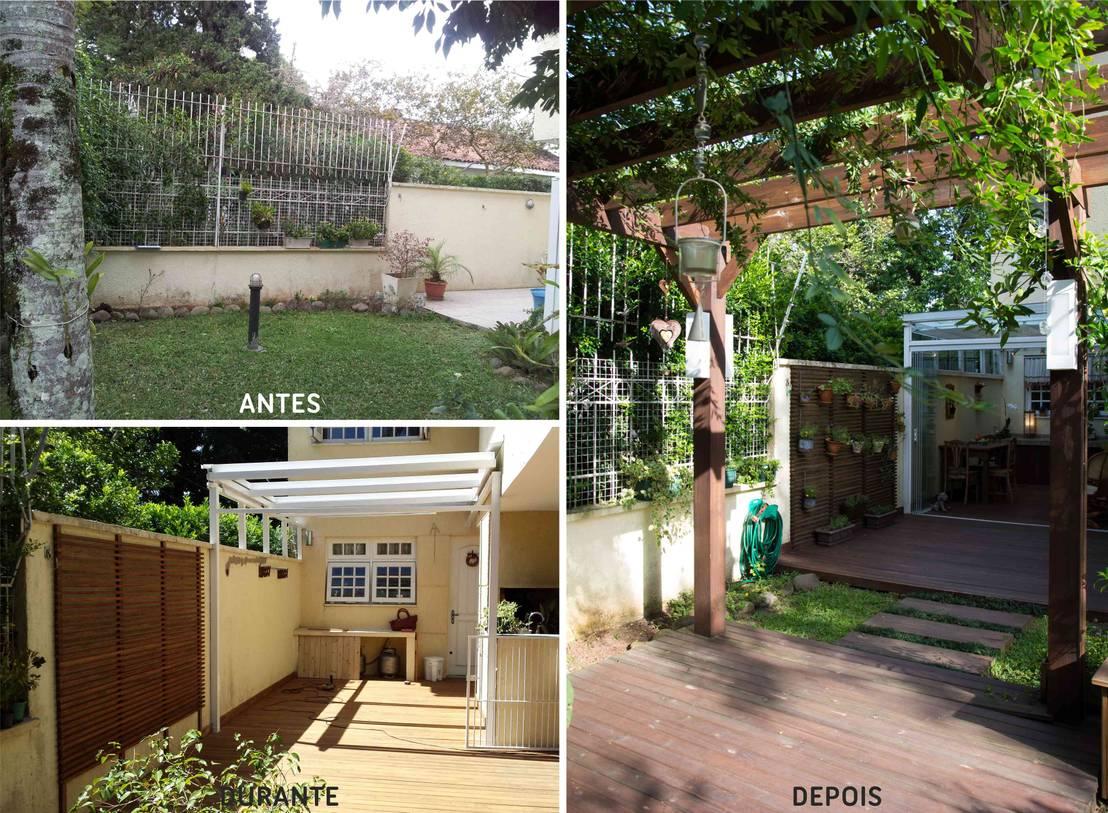 Voor en Na: een verouderde tuin wordt een nostalgisch paradijsje
