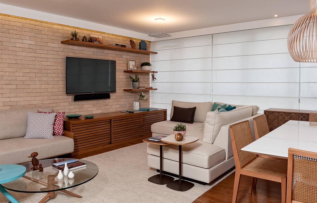 12 ideias bonitas e econ micas para decorar a sala de estar for Salas chicas economicas