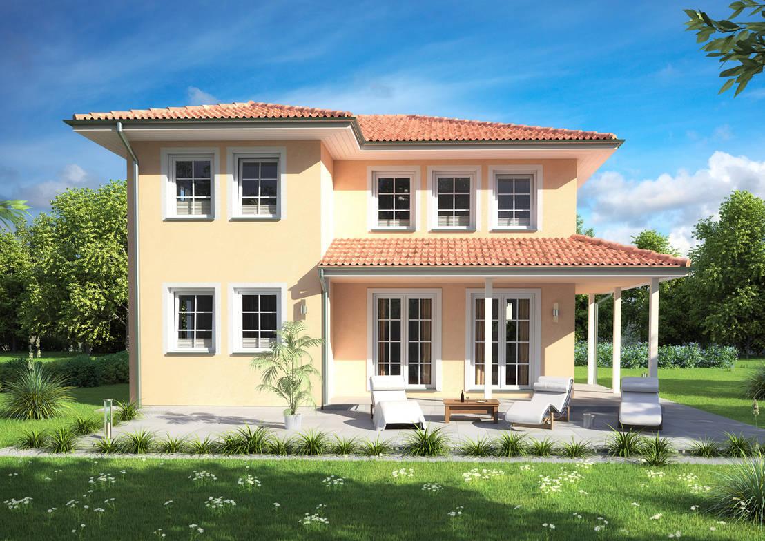 fachadas de casas modernas tradicionales haus capri von rostow bau homify