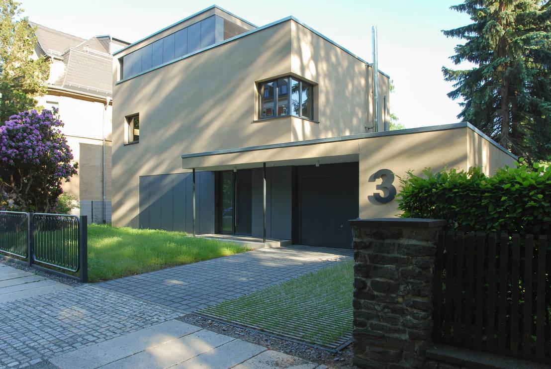 Haus tl neues wohnen im historischen umfeld von fried a - Sichtschutz buro ...