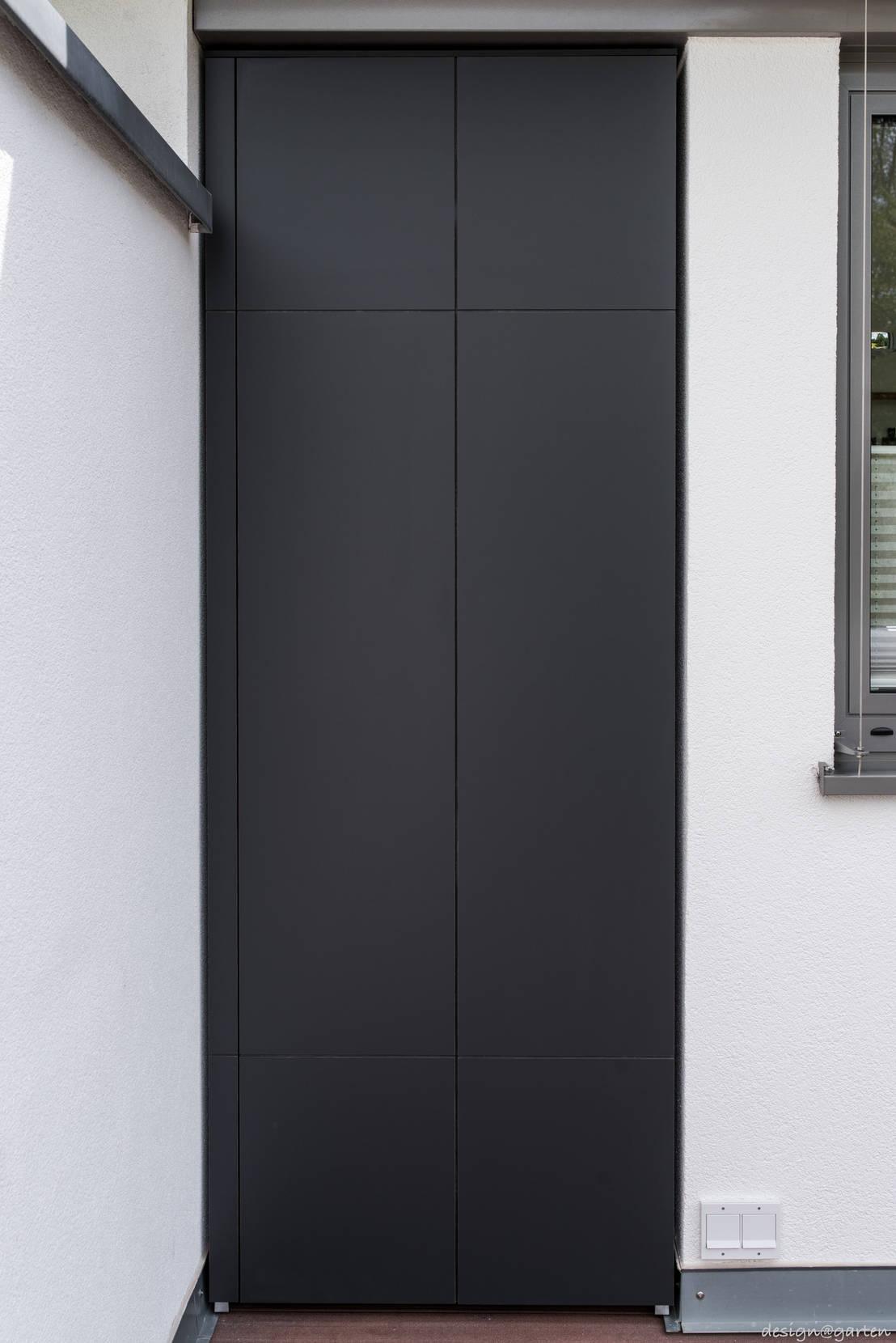 terrassenschrank win nach ma wetterfest by design garten homify. Black Bedroom Furniture Sets. Home Design Ideas
