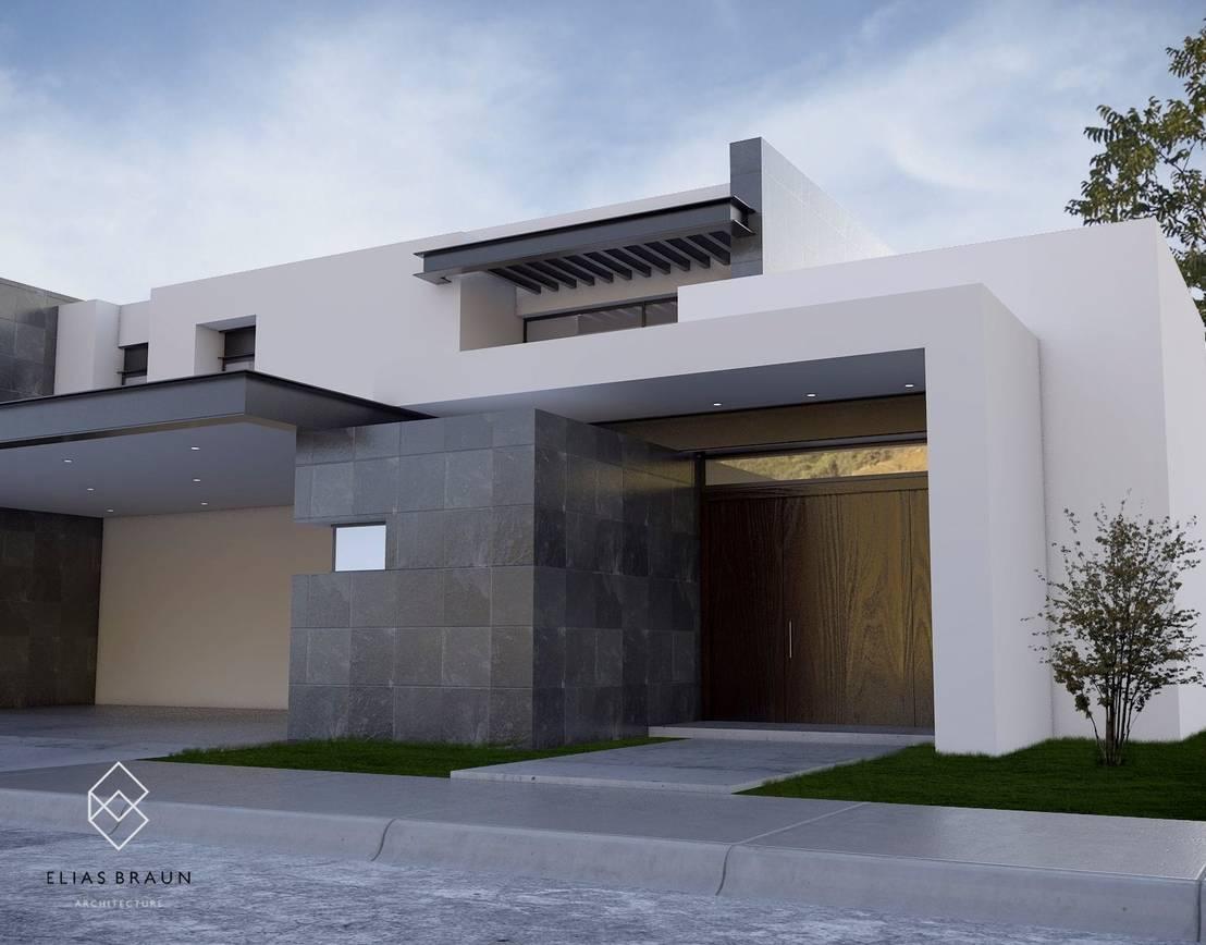 Casa sl de elias braun architecture homify - Ideas para pintar una casa moderna ...