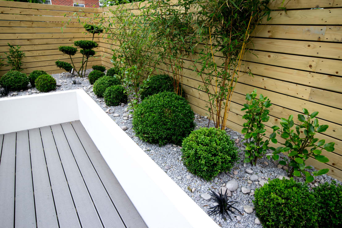 9 ideas for small cheap and low maintenance gardens for Small low maintenance gardens