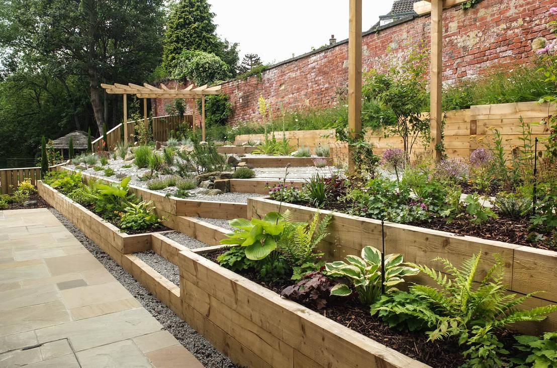 16 tuinen die je buren jaloers maken. Black Bedroom Furniture Sets. Home Design Ideas