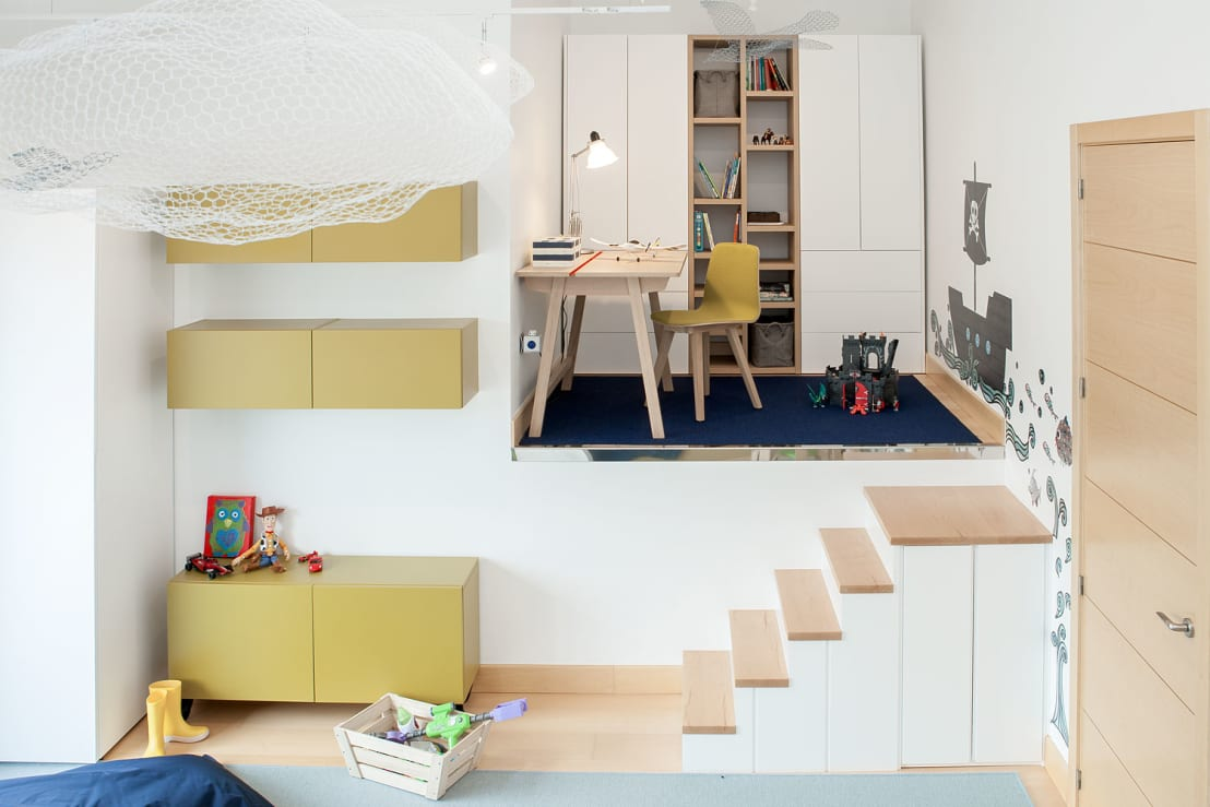 Habitaci n infantil cuarto de juegos de estibaliz mart n for Decoradores de interiores en bilbao