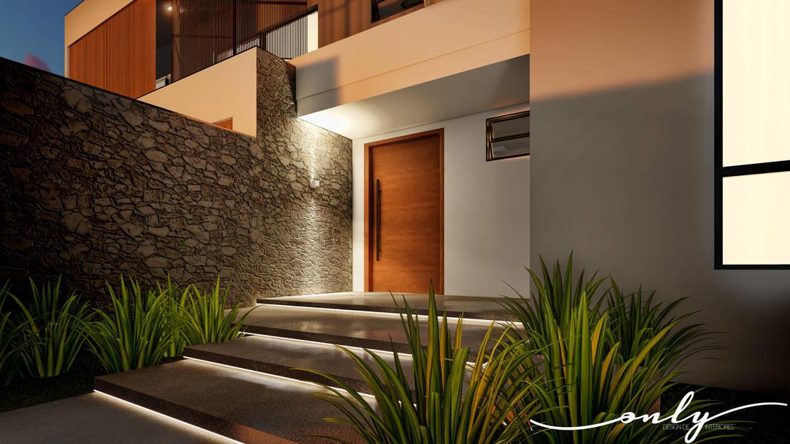 13 moderne hauseing nge aus stein und holz. Black Bedroom Furniture Sets. Home Design Ideas