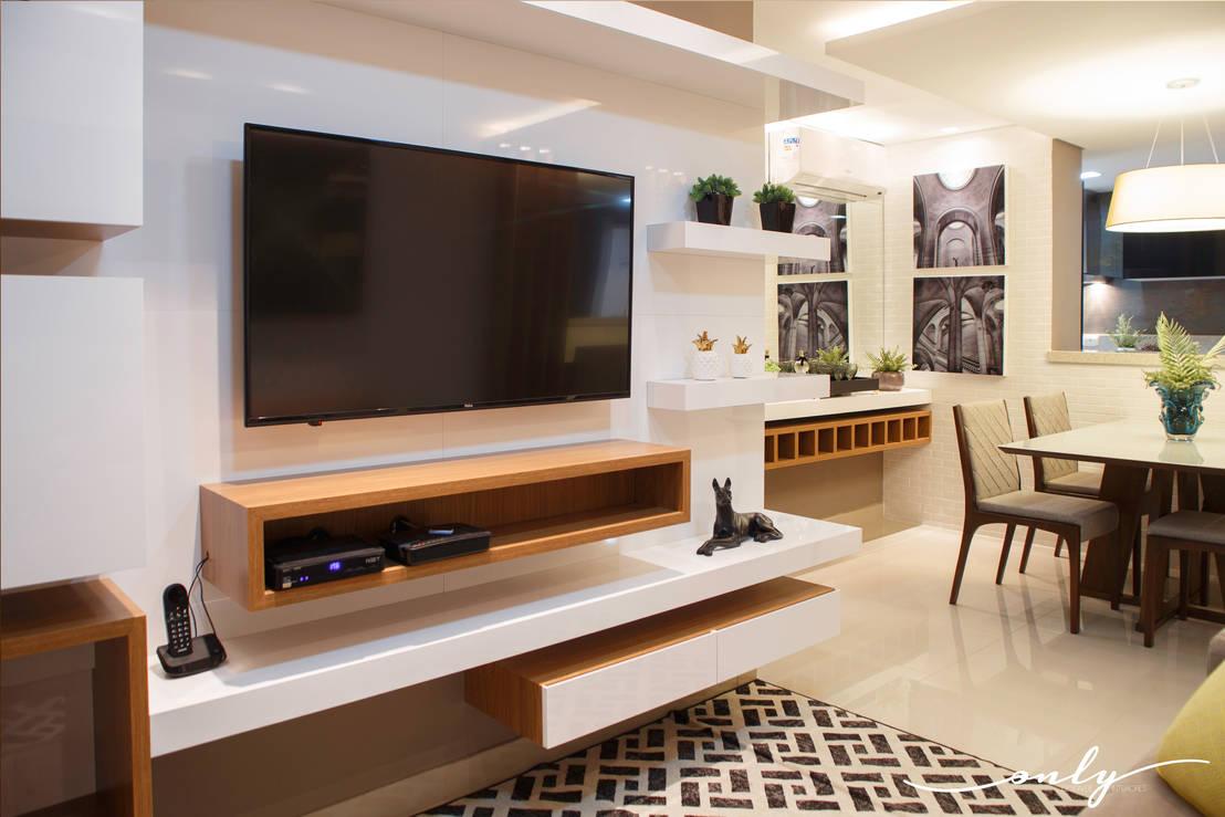 11 ideas de repisas para la casa que puedes hacer t mismo for Muebles modulares modernos para sala